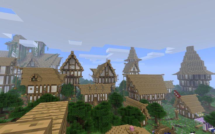 minecraft city bregin http://minecraftgallery/category/creations