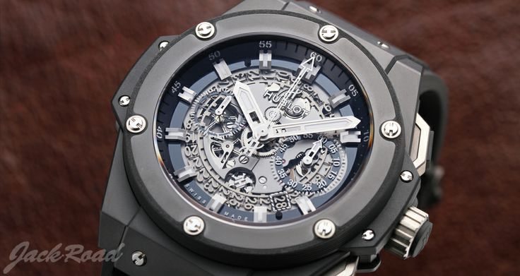 HUBLOT King Power Unico Black Magic / Ref.701.CI.0170.RX