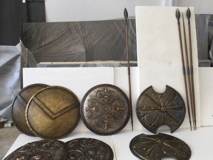 """Foto: """"Magna Grecia"""" - Senise Potenza, realizzazione attrezzeria [Laboratorio] — a Pesaro e Urbino."""