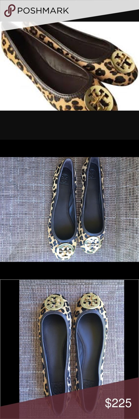 Tory Burch Animal Print Ballet Flats Tory Burch Animal Print Ballet Flats.  NWT. Tory Burch Shoes Flats & Loafers
