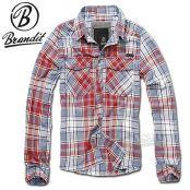 Brandit Checkshirt grau: Das Brandit Checkshirt ist ein klassisches Flanellhemd mit durchgehender Knopfleiste und geradem bequemen Schnitt.…