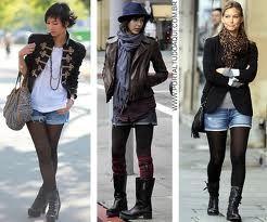looks de inverno com meia calça - Pesquisa Google