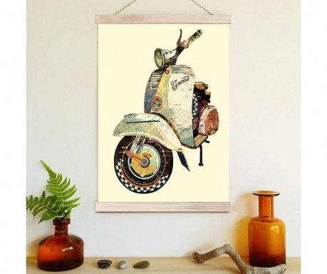 Vespa by Wall Boutique