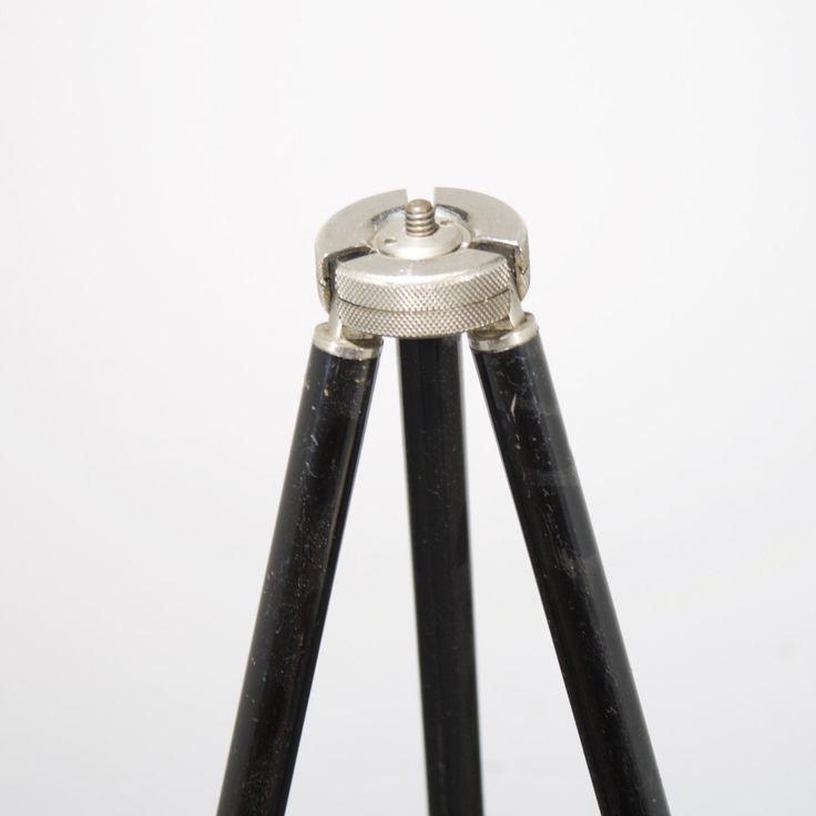 Antiek metalen statief/tripod, uitschuifbaar door Terraevintage op Etsy