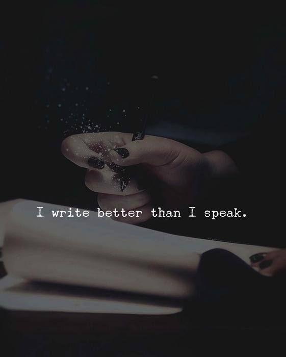 I write better than I speak.. via (http://ift.tt/2zfGLZb)