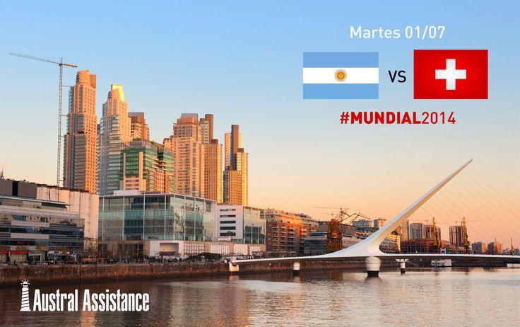 #Mundial2014 #Argentina #Suiza ---> Austral Assistance - Asistencia al viajero, aquí y en todo el mundo. www.australassistance.com