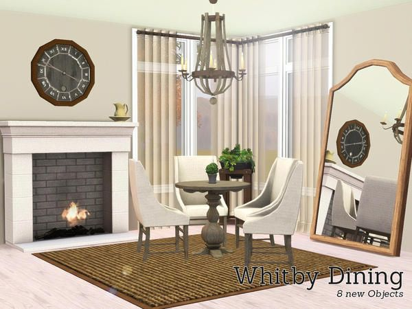 Angela 39 s whitby dining room sims 3 design inspirations for Sims 3 dining room ideas