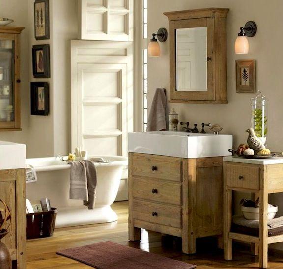 Farmhouse Bathroom | Pottery Barn