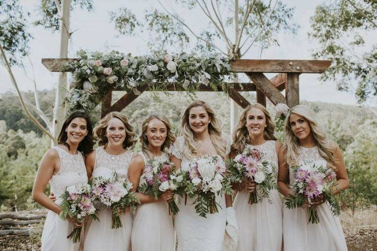 REAL WEDDING: Anna Campbell bride Brittany in her Saasha dress! Via @weshed image @nectarine
