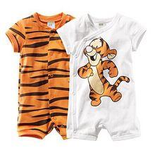 Macacão de bebê Tigre nova nascidos macacão de uma peça de desgaste do bebê…
