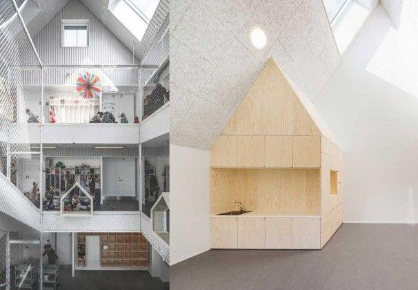 interior guarderia minimalista