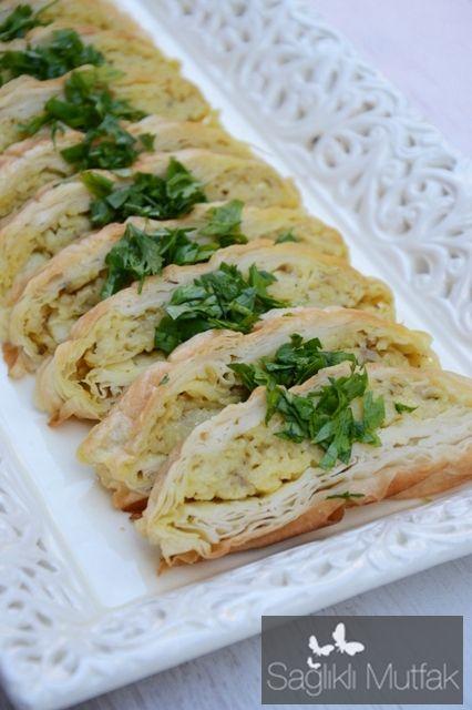 Kek Kalıbında Patatesli Hint Böreği