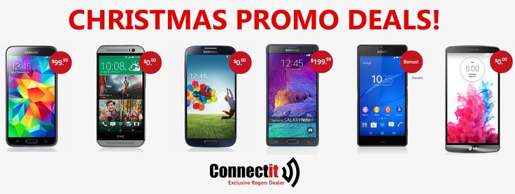 You've been waiting all year for this moment and it's finally here. The Rogers Christmas Promotion Deals Have Begun @ConnectItTelco. We haven't seen #deals like this for the hottest #smartphones since 2013!