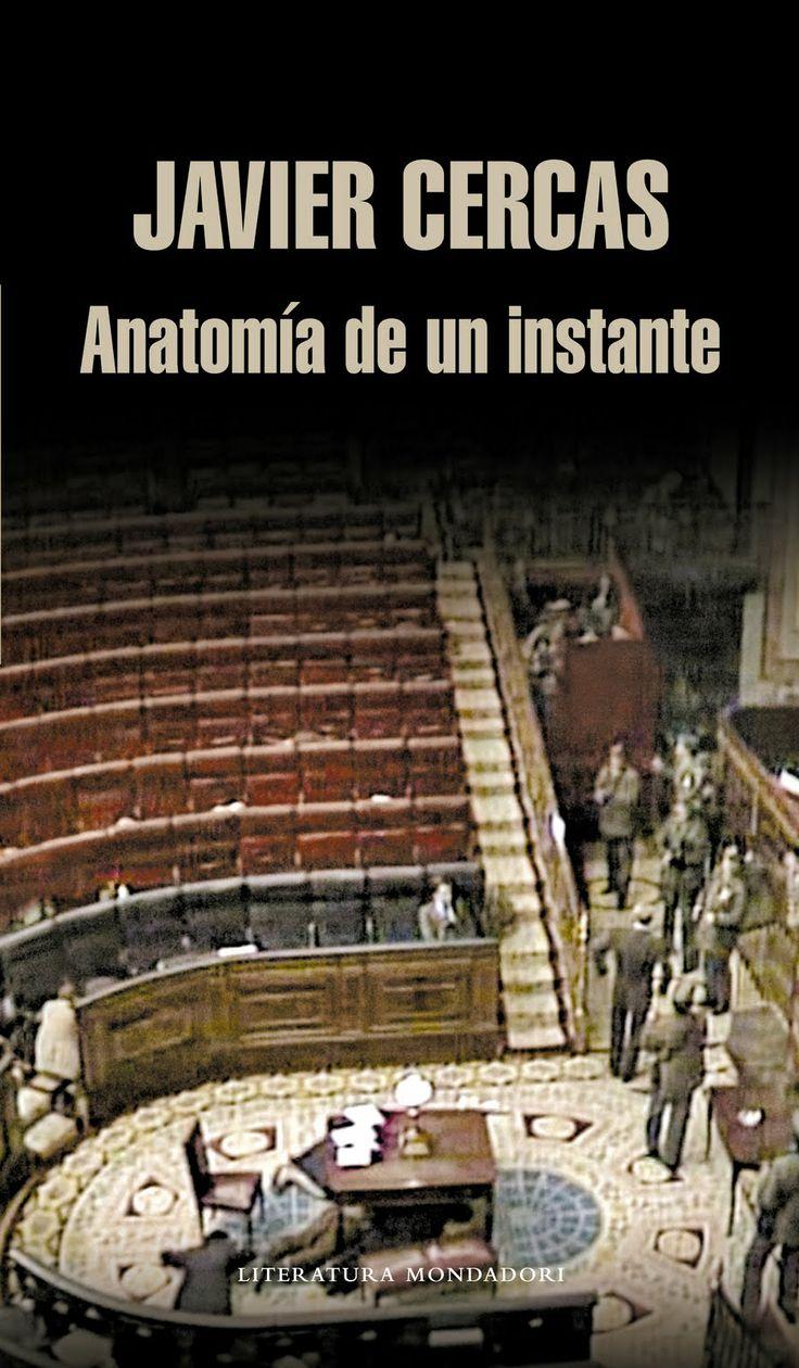 """""""Anatomía de un instante"""" by Javier Cercas."""