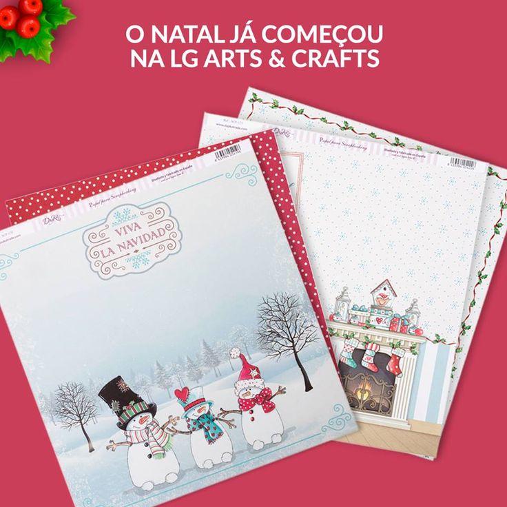 Hoje apresentamos estes dois papéis (frente e verso) para Scrapbooking com motivos natalícios encantadores. Estes papéis são uma criação exclusiva Dayka, concebidos e produzidos em Espanha.