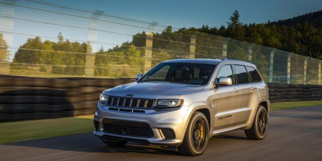 2018 Jeep Grand Cherokee Trackhawk Review Jeep Grand Cherokee