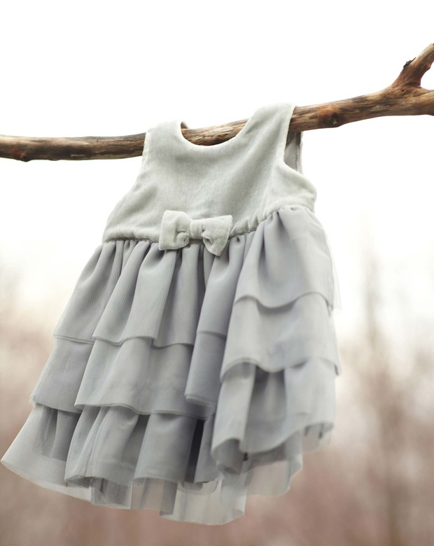 """""""In this image: Dress (4YW95V2ME). Winter 2012 United Colors of Benetton Baby collection."""""""