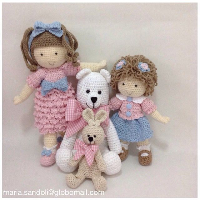 Amigurumi Tags For Instagram : Images about crochet kelly doll and dolls on