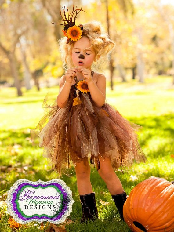 Adorable Scarecrow Tutu Dress
