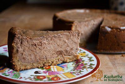 Kuchařka ze Svatojánu: TVAROHOVÝ KOLÁČ S ČOKOLÁDOU