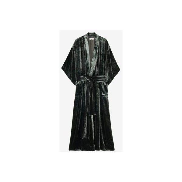 Women's Nightwear ❤ liked on Polyvore featuring intimates, sleepwear, pajamas, kimono pajamas, kimono sleepwear and stitch pajamas