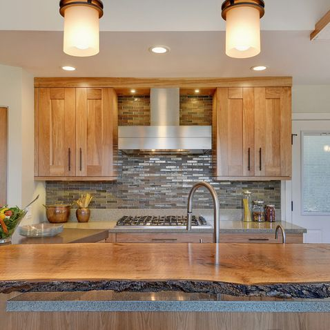91 best images about kitchen re do on pinterest shaker for Birch wood kitchen cabinets