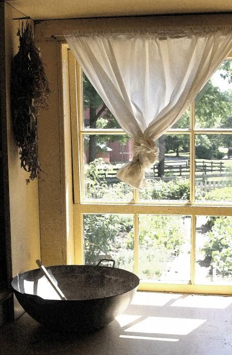 17 best images about windows on pinterest modern for Country farmhouse window treatments