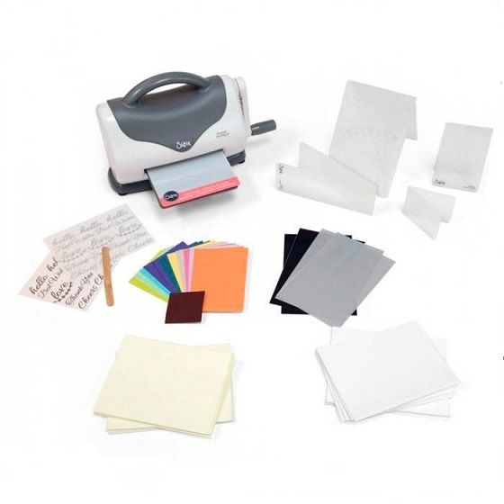 Kit Starter Texture Boutique Machine, de Sizzix.