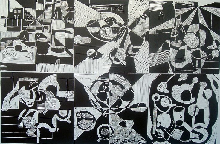 Printmaking- Still life in Perspective on The Loop