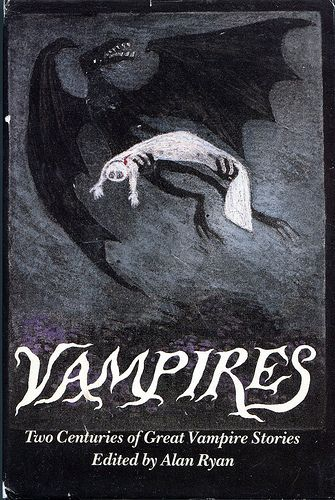 Vampires (also published as The Penguin Book of Vampire Stories) edited by Alan Ryan, cover by Edward Gorey.