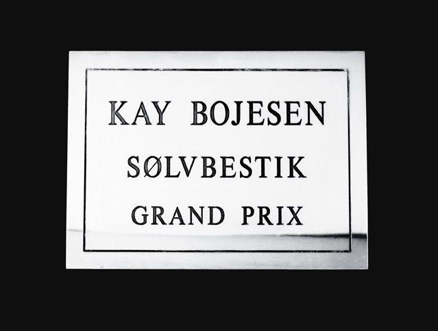 Kay Bojesen silver Grand Prix cutlery. Kay Bojesen silver. Danish Design