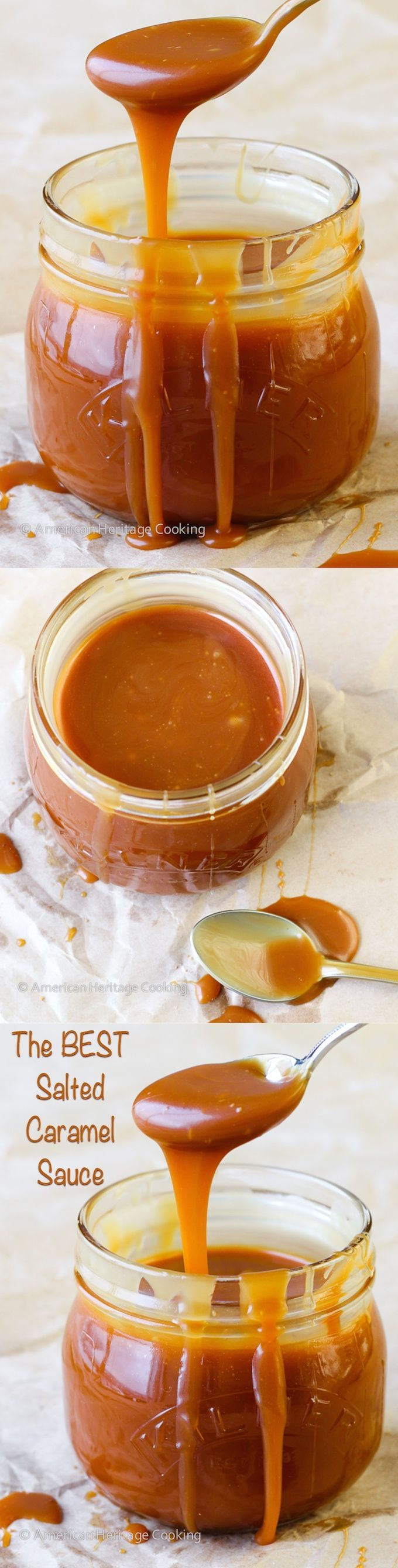 The BEST Salted Caramel Sauce | Plus 5 tips to help make deslicious caramel every time! - American Heritage Cooking