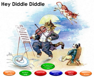 Hey, Diddle Diddle / SMARTBoard lesson with musical activities