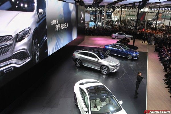 2014 Mercedes-Benz Coupe SUV Auto Show