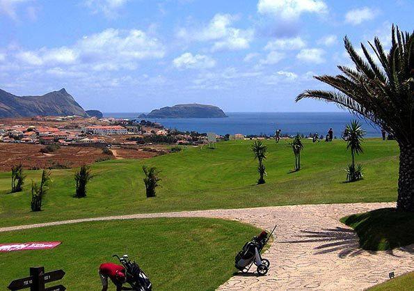 campo de golfe ...ilha do Porto Santo