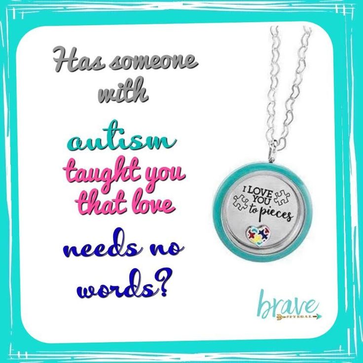 "Did you know that April is National Autism Awareness Month? Origami Owl is proud be a Force For Good and support those who advocate, spread awareness and love someone with autism with our ""I Love You to Pieces"" Locket set. By purchasing our heart-felt ""I Love You to Pieces"" Silver Twist Living Locket™ look, Origami Owl will donate $1 from each look purchased to benefit the Autism Society in the U.S supporting National Autism Awareness Month."