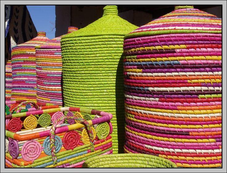 Malagasy Wickerworks - Antsirabe, Antananarivo Madagascar by Bernard Decaudin