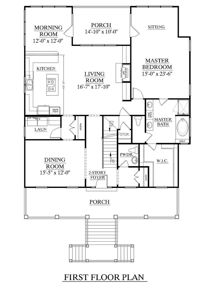 House plan 3247 a edisto first floor elevated design for - First floor master bedroom house plans ...