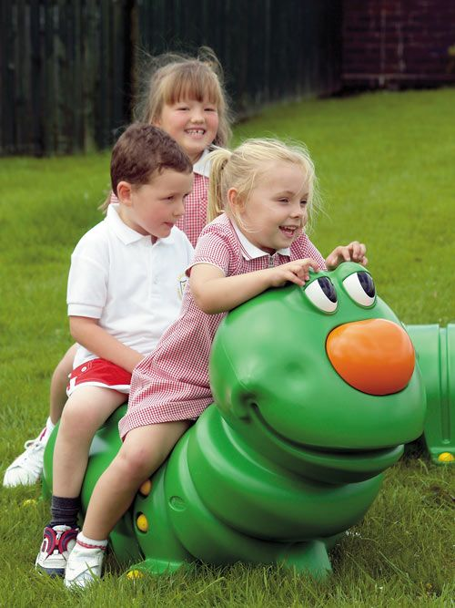 Munchy™ is a caterpillar shaped children's seat and can be placed inside or outside which is ideal for nurseries and playgroups. It is robust, will withstand wear and tear, and is child friendly with no finger traps or sharp edges. #ChildrensSeat #Novelty #Seating #GlasdonUK