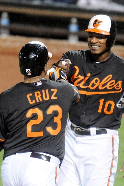Adam Jones Photos - Tampa Bay Rays v Baltimore Orioles - Game Two - Zimbio