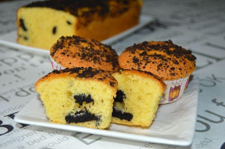 Miremirc - Briose cu biscuiti Oreo