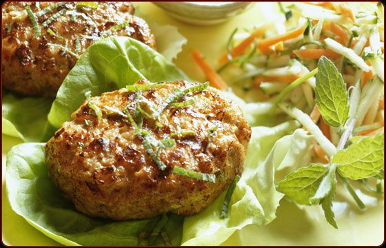 GREAT Tuna Burgers  from Traeger Grill Recipes! Made these last night! Terrific!