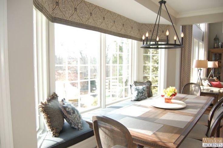 17 Best Ideas About Bay Window Treatments On Pinterest