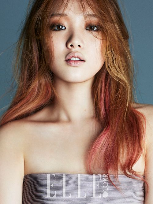 Lee Sung Kyung - Elle Magazine August Issue '14
