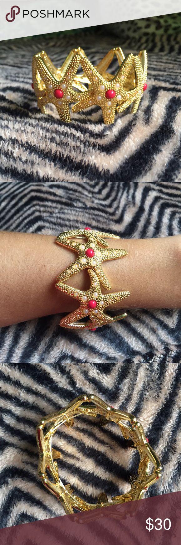 Lilly Pulitzer Starfish Stretch Bracelet Lilly Pulitzer Starfish Stretch Bracelet - never worn! Lilly Pulitzer Jewelry Bracelets