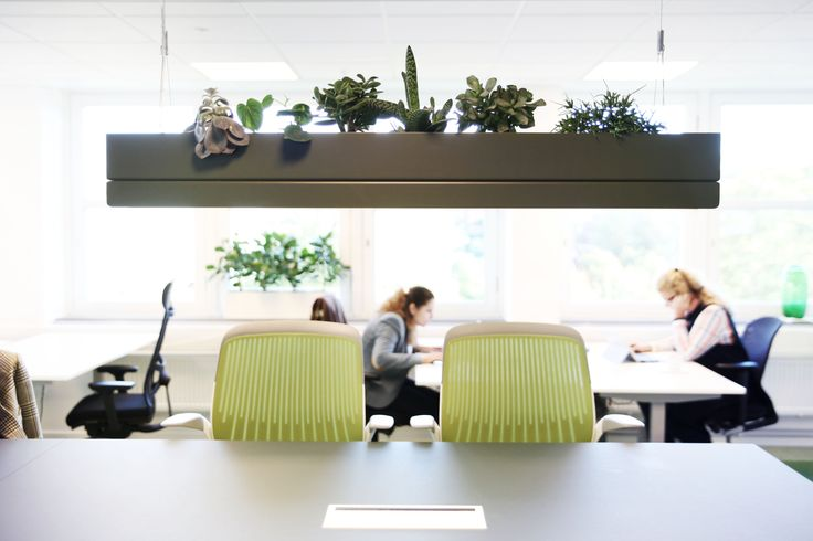 One of our Bridge lamp, office space, Stockholm!