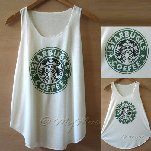 Starbucks tank top $15.00