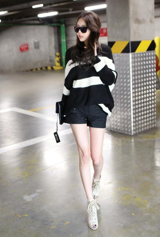 lovely korean outfit for girls shorts 8