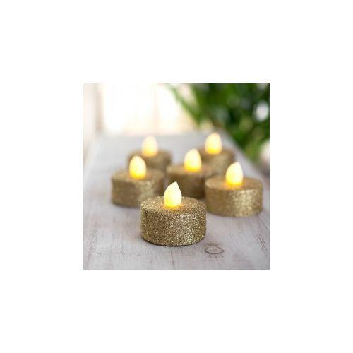 Pour acheter votre Lot 6 bougies Led à pailletes Or- Féérie Christmas pas cher et au meilleur prix : Rueducommerce, c'est le spécialiste du Lot 6 bougies Led à pailletes Or- Féérie Christmas avec du choix et le service.