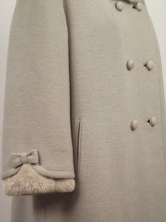 Как удлинить рукава пальто мехом